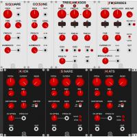 Autodafe REDs Modules for VCV Rack