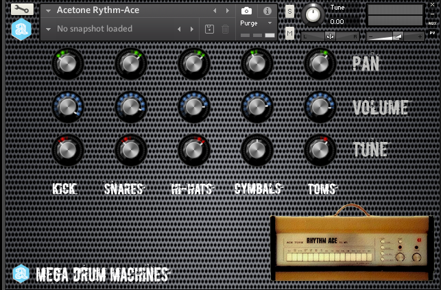 Mega Drum Machines Collection for Kontakt - Autodafe net