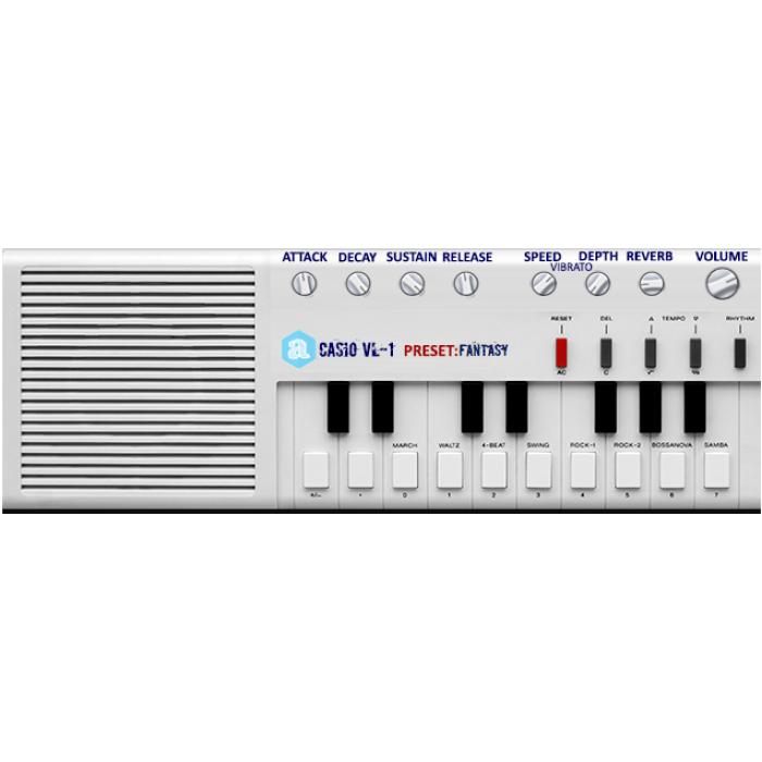 Casio VL-1 Plugin MAC/Win AU/VST 32/64bits - Autodafe net
