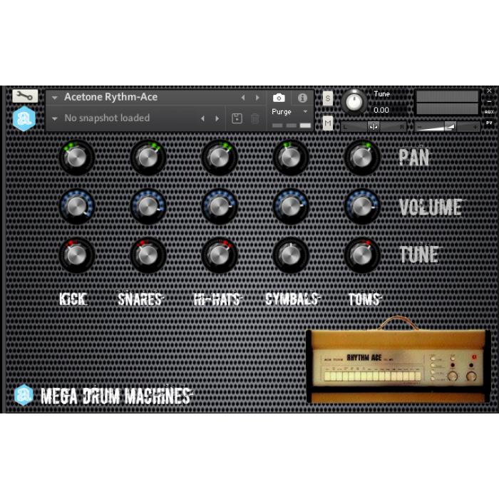 Mega Drum Machines Collection v 2 for Kontakt - Autodafe net