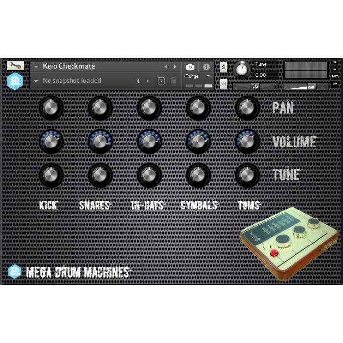 Mega Drum Machines Collection for Kontakt - Autodafe net