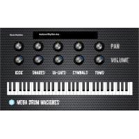 Mega Drum Machines MAC/Win AU/VST 32/64bits