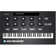 Mega Drum Machines MAC/Win AU/VST 32/64bits