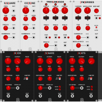 Autodafe REDs Modules for VCV Rack