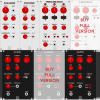 Autodafe REDs Modules FREE for VCV Rack