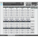 DRM32 Analog Drum Machine for Kontakt