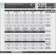 drm32 analog drum machine for kontakt. Black Bedroom Furniture Sets. Home Design Ideas